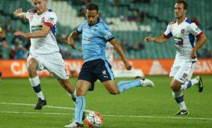 Brosque greve recebe Sydney FC passado Jets como The Cove estágio A-League boicote